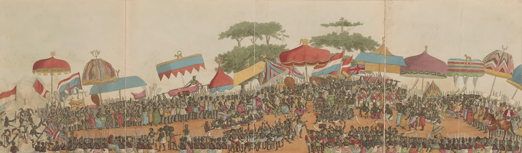 Mission from Cape Coast Castle to Ashantee - The First Day of the Yam Custom (1819)