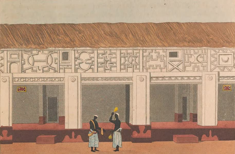 Mission from Cape Coast Castle to Ashantee - Part of a Piazza in the Palace (I) (1819)
