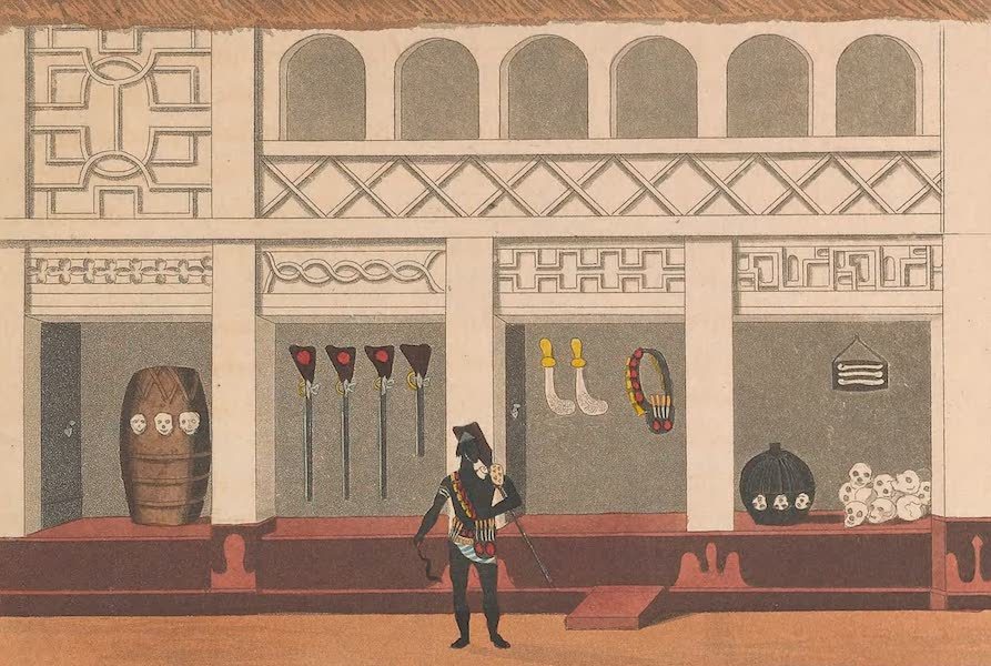 Mission from Cape Coast Castle to Ashantee - Part of a Piazza in the Palace (II) (1819)