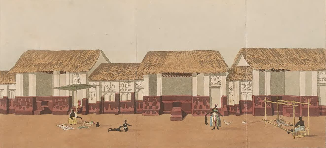 Mission from Cape Coast Castle to Ashantee - Part of Adoom Street (1819)