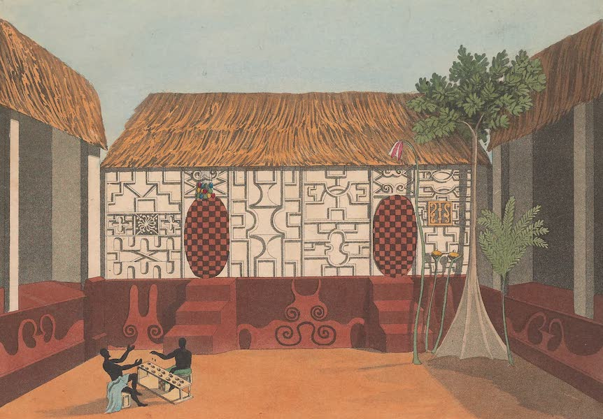 Mission from Cape Coast Castle to Ashantee - The King's Sleeping Room (1819)