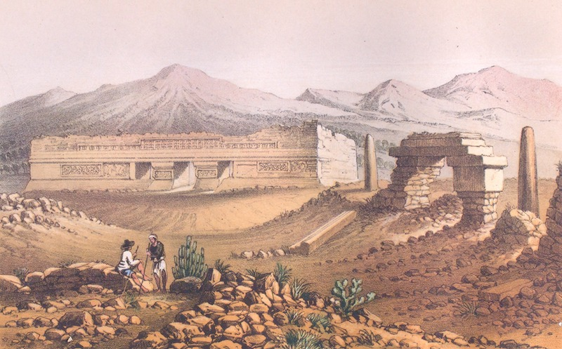 Mitla. A Narrative of Incidents - Main Building of the Ruins Near Mitla (1858)