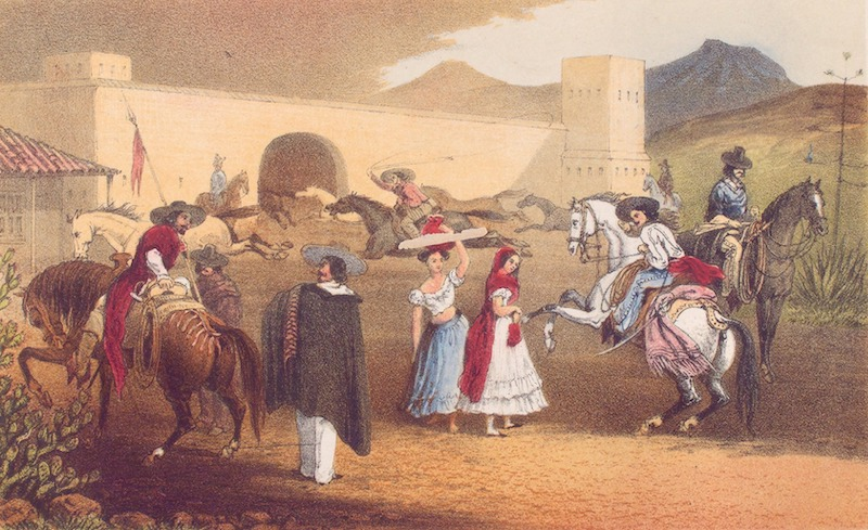 Mitla. A Narrative of Incidents - Mexicans Near the Hacienda del Valle (1858)