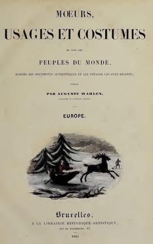 French - Moeurs, Usages et Costumes de Tous les Peuples du Monde Vol. 3