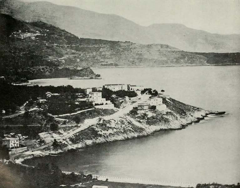 Monaco and Monte Carlo - Villa Colombe : Early Structures, about 1870, at Monte Carlo (1912)