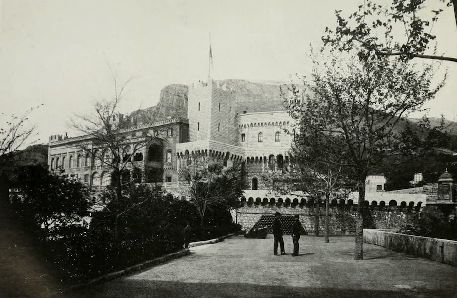 Monaco and Monte Carlo - The Ancient Palace of the Grimaldis (1912)