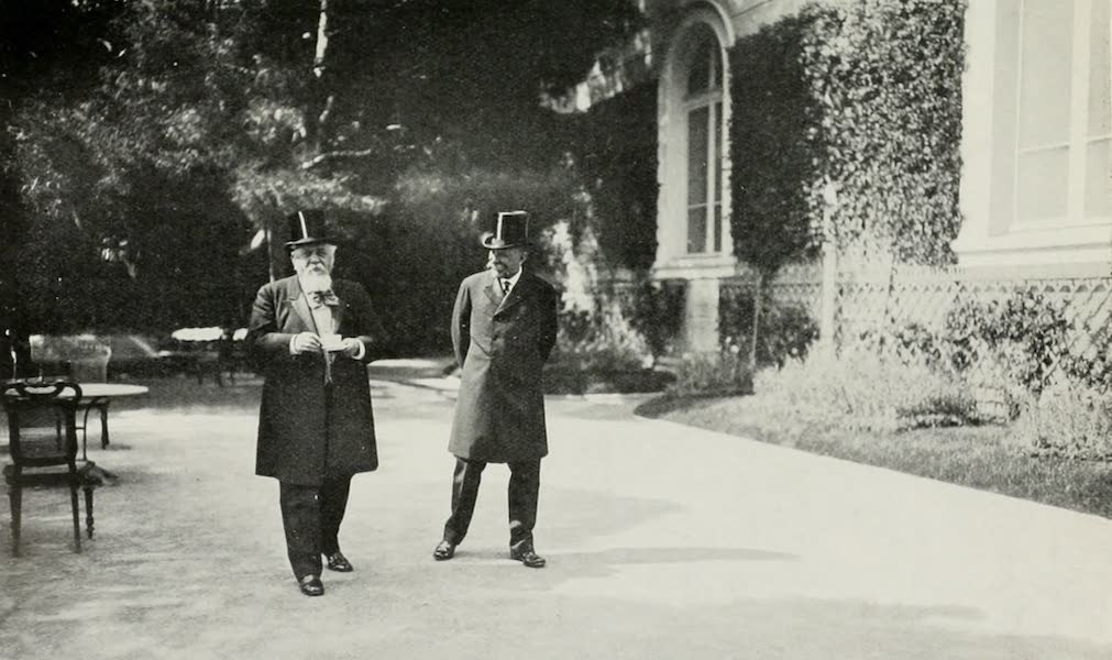 Monaco and Monte Carlo - The Prince Tells the President One of His Best Jokes (1912)