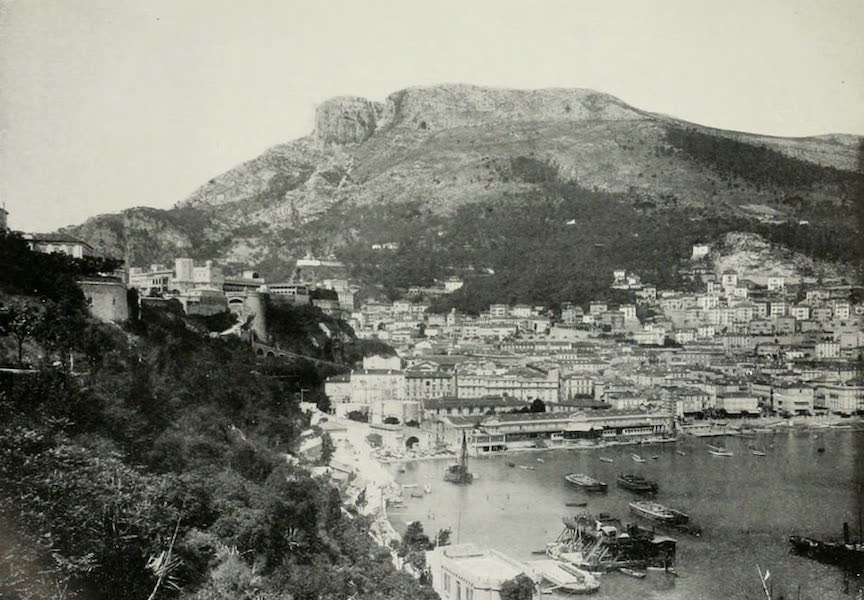 Monaco and Monte Carlo - The Tete De Chien Mountain, The Prince's Palace And The Condamine (1912)