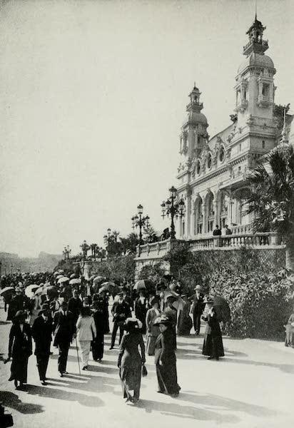 Monaco and Monte Carlo - Midwinter Sun Bath on the Casino Terrace (1912)