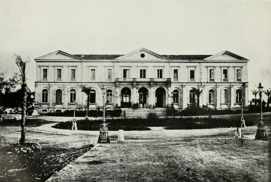 Monaco and Monte Carlo - The First Casino at Monte Carlo : Northern Aspect in the Sixties (1912)