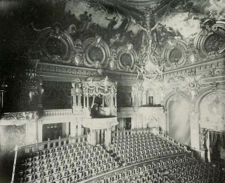 Monaco and Monte Carlo - The Garnier Theatre: View from the Stage (1912)