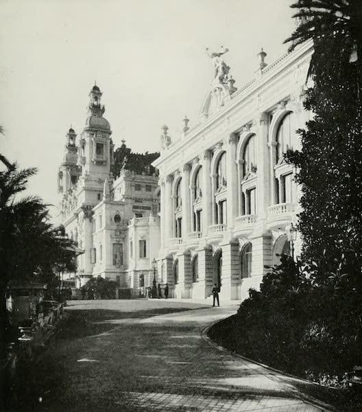 Monaco and Monte Carlo - East View of the Garnier Theatre (1912)