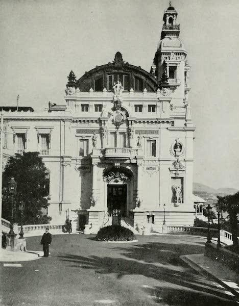 Monaco and Monte Carlo - West View of the Garnier Theatre (1912)