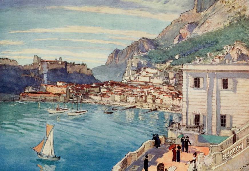Monaco and Monte Carlo - The Condamine, Monaco Harbour and the Palace (1912)