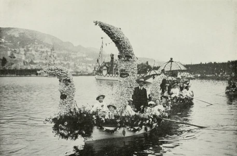 Monaco and Monte Carlo - The Naval Battle of Flowers (1912)