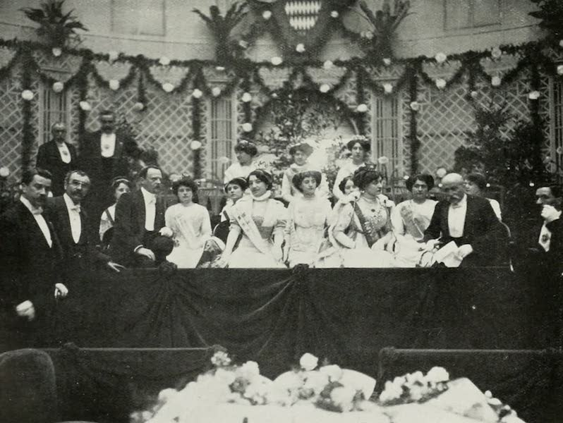 Monaco and Monte Carlo - Reception of the Queens of Beauty (1912)