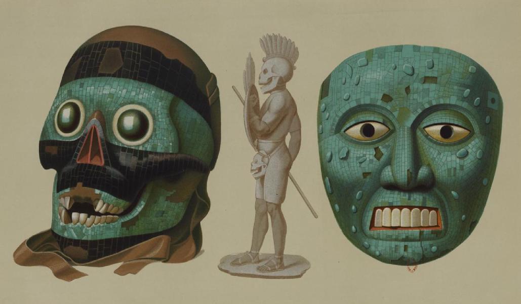 Monuments anciens du Mexique - Pt. XLIII - Masques de cranes humains (1866)
