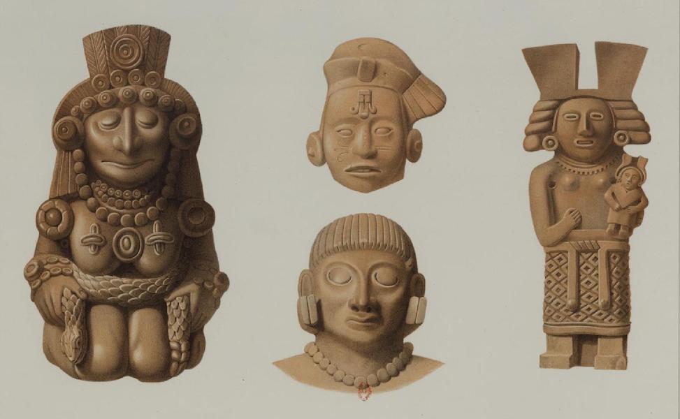 Monuments anciens du Mexique - Pt. LI - Terres cuites de divers endroits (1866)