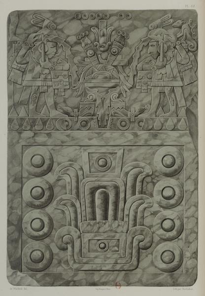 Monuments anciens du Mexique - Pt. LIII - Beau jade du Musee de Mexico (1866)