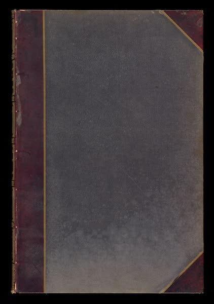 Monuments d'Architecture et de Sculpture en Belgique Vol. 1 - Front Cover (1860)