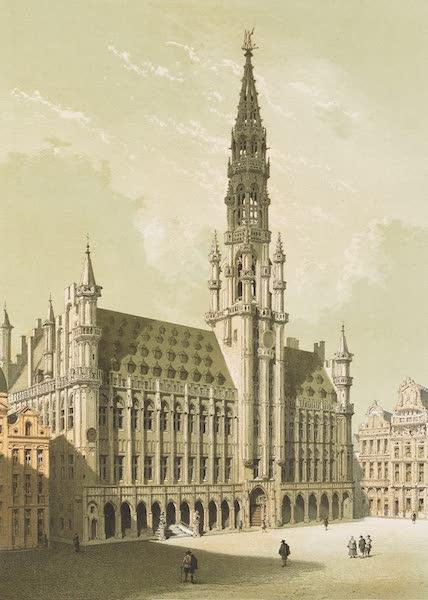 Monuments d'Architecture et de Sculpture en Belgique Vol. 1 - L'Hotel-de-Ville de Bruxelles (1860)