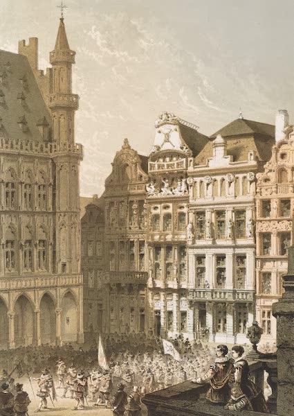 Monuments d'Architecture et de Sculpture en Belgique Vol. 1 - Maisons des Anciennes Confreries a Bruxelles (1860)