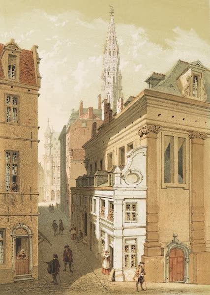 Monuments d'Architecture et de Sculpture en Belgique Vol. 1 - Ancienne Boucherie et Tour de l'Hotel de Ville a Bruxelles (1860)