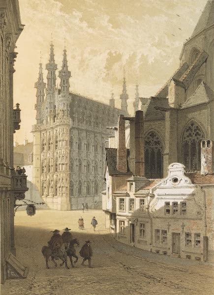 Monuments d'Architecture et de Sculpture en Belgique Vol. 1 - L'Hotel-de-Ville a Louvain (1860)