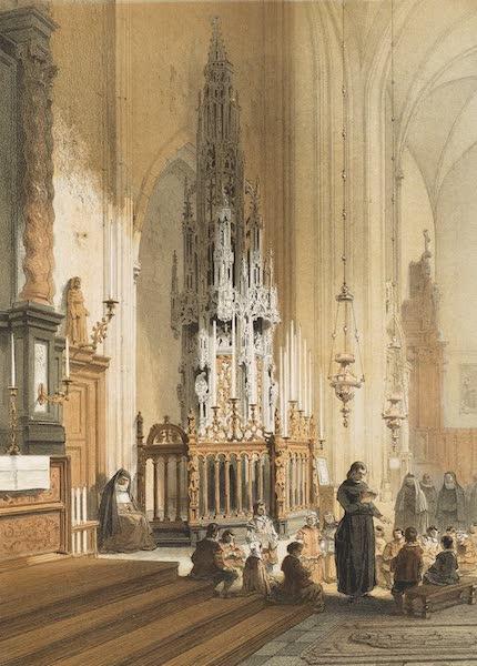Monuments d'Architecture et de Sculpture en Belgique Vol. 1 - Tabernacle de l'Eglise St. Jacques a Louvain (1860)