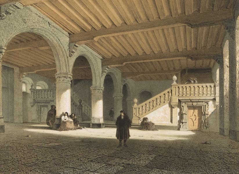 Monuments d'Architecture et de Sculpture en Belgique Vol. 1 - Anciennes Halles a Louvain (1860)