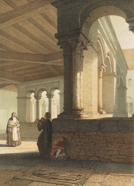 Monuments d'Architecture et de Sculpture en Belgique Vol. 1 - Le Cloitre Ste. Gertrude a Nivelles (1860)