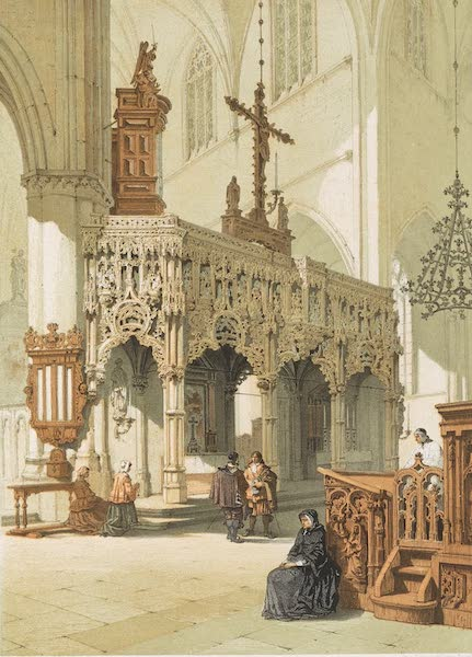 Monuments d'Architecture et de Sculpture en Belgique Vol. 1 - Jube de l'Eglise d'Aerschot (1860)