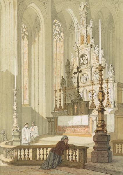 Monuments d'Architecture et de Sculpture en Belgique Vol. 1 - Autel de l'Eglise Notre Dame a Hal (1860)