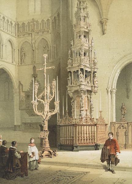 Monuments d'Architecture et de Sculpture en Belgique Vol. 1 - Tabernacle de l'Eglise St. Leonard a Leau (1860)