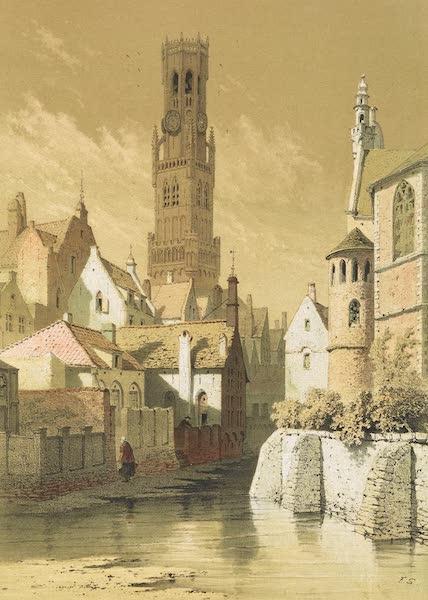 Monuments d'Architecture et de Sculpture en Belgique Vol. 1 - La Tour des Halles a Bruges (1860)