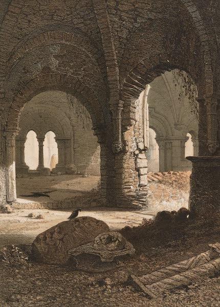 Monuments d'Architecture et de Sculpture en Belgique Vol. 1 - Ruines de l'Abbaye St. Bavon a Gand (1860)