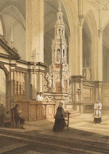 Monuments d'Architecture et de Sculpture en Belgique Vol. 1 - Tabernacle de l'Eglise St. Jacques a Gand (1860)