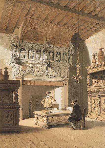 Monuments d'Architecture et de Sculpture en Belgique Vol. 1 - Salle du Conseil a l'Hotel-de-Ville, Courtrai (1860)