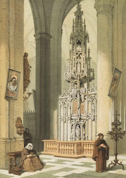 Monuments d'Architecture et de Sculpture en Belgique Vol. 1 - Tabernacle de l'Eglise St. Martin a Courtrai (1860)