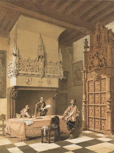 Monuments d'Architecture et de Sculpture en Belgique Vol. 1 - Salle des Magisrats a Audenaerde (1860)