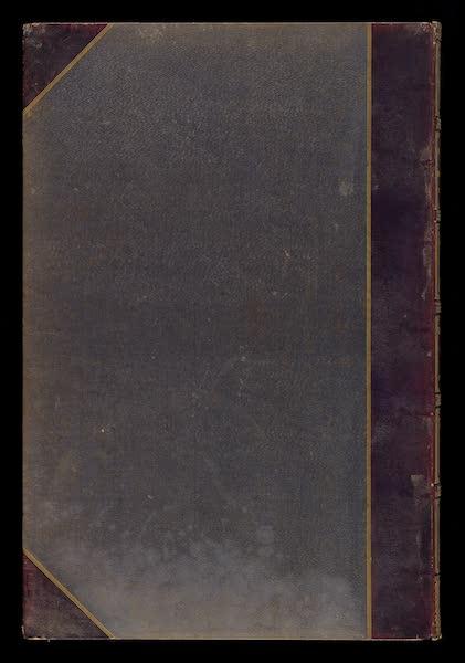 Monuments d'Architecture et de Sculpture en Belgique Vol. 1 - Back Cover (1860)