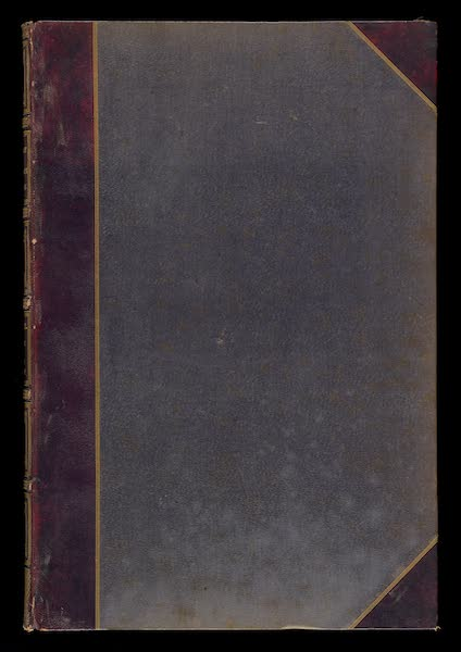 Monuments d'Architecture et de Sculpture en Belgique Vol. 2 - Front Cover (1860)