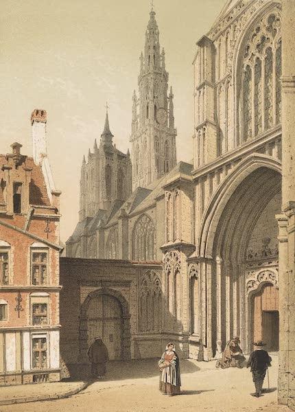 Monuments d'Architecture et de Sculpture en Belgique Vol. 2 - Porche Lateral de la Cathedrale d'Anvers (1860)