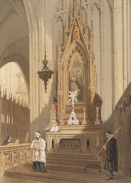 Monuments d'Architecture et de Sculpture en Belgique Vol. 2 - Chapelle dans la Cathedrale d'Anvers (1860)