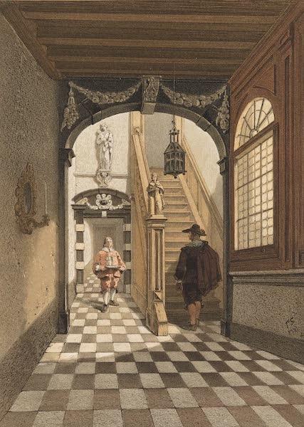 Monuments d'Architecture et de Sculpture en Belgique Vol. 2 - Entree de la Maison des Brasseurs a Anvers (1860)