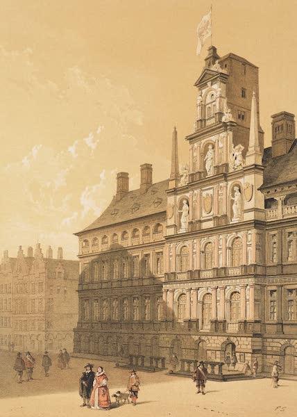 Monuments d'Architecture et de Sculpture en Belgique Vol. 2 - L'Hotel de Ville a Anvers (1860)
