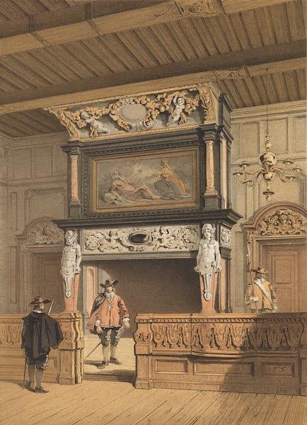 Monuments d'Architecture et de Sculpture en Belgique Vol. 2 - Cheminee a l'Hotel de Ville d'Anvers (1860)