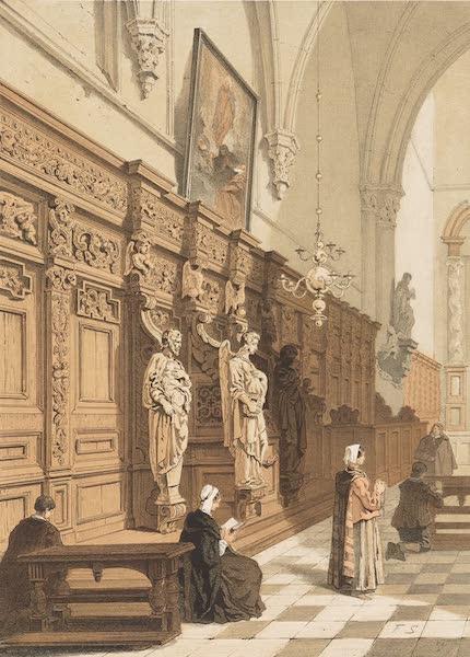 Monuments d'Architecture et de Sculpture en Belgique Vol. 2 - Confessionnal de l'Eglise de St. Paul a Anvers (1860)
