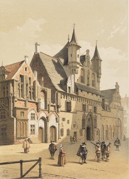 Monuments d'Architecture et de Sculpture en Belgique Vol. 2 - Les Halles a Malines (1860)
