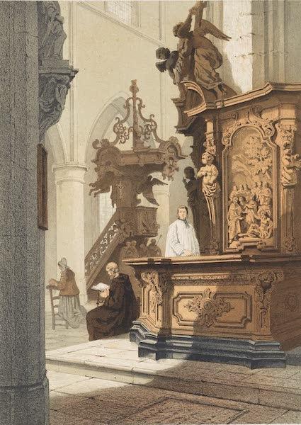 Monuments d'Architecture et de Sculpture en Belgique Vol. 2 - Interieur de l'Eglise St. Jean a Malines (1860)